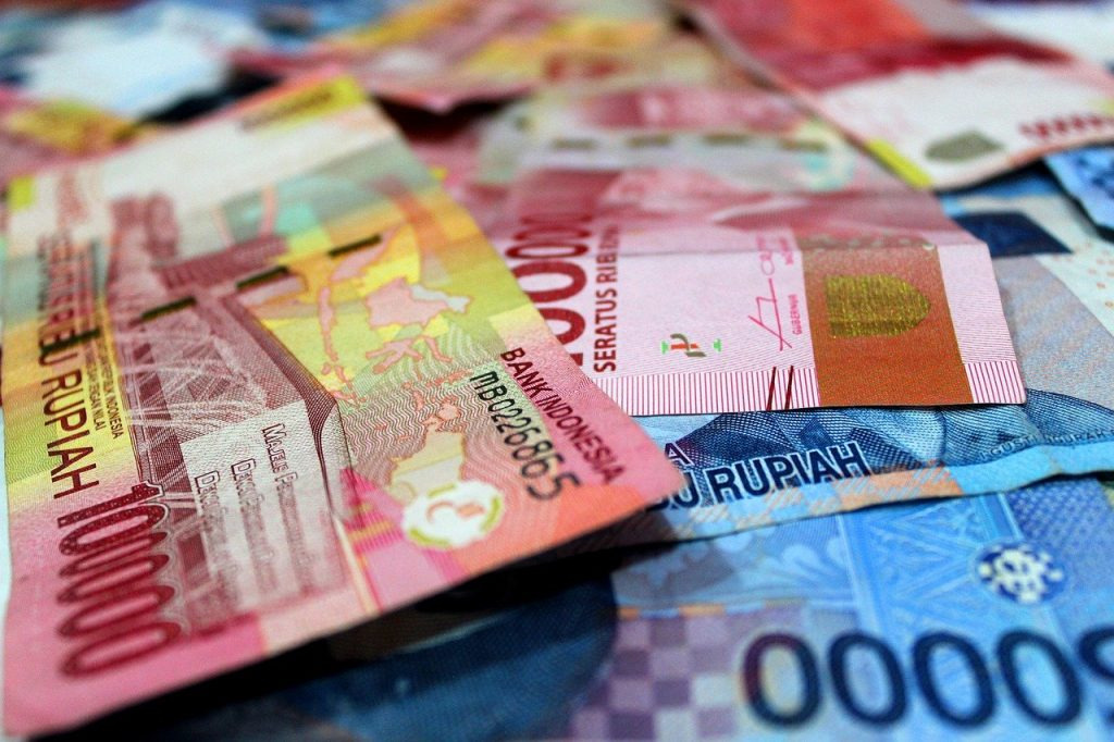 money, rupiah, salary